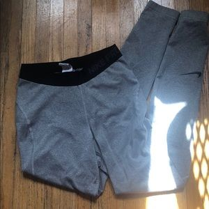 Nike pro workout tights